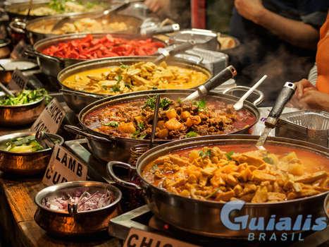 Refeições do Restaurante em Brasil